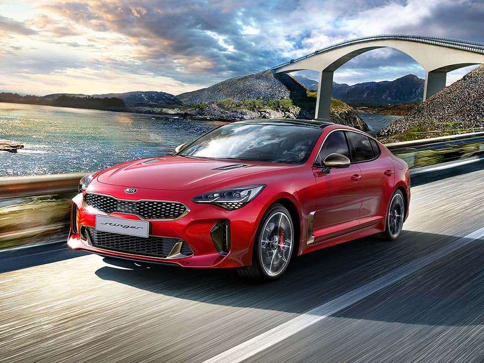 New Kia Stinger GT spacious trunk
